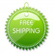 Free shipping tag — Stock Photo #4522743