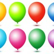 Colorful ballons - Stock Photo