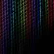 Colorful binary background — Stock Photo