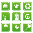 Set of recycle icons — Stock Photo #4523064