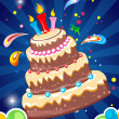 Cheerful birthday card -  