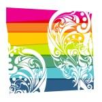 renkli çiçek arka plan — Stok fotoğraf #4525726