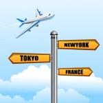 World tour — Stock Photo