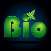 Bio background — Stock Photo