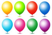 Colorful ballons — Stock Photo