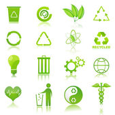 Recycle icons — Stock Photo