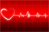 Heart beats — Stock Photo