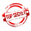 Top secret stamp - Stock Photo