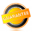 Guarantee seal — Stock Photo