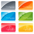 Colorful cards — Stock Photo #4541248
