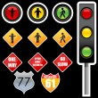 Traffic signs — Stock Photo #4563292