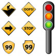 Stock Photo: Traffic signs