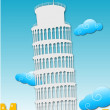 Stock Photo: Tower of pisa