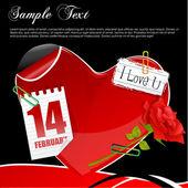 Valentine card — Fotografia Stock