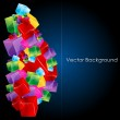 Colorful vector background — Stock Photo