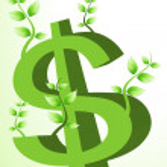 Dollar tree — Stock Photo