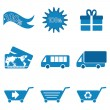 shopping icons — Stock Photo #4582250