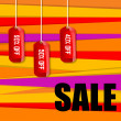 Sale and discount tags — Stock Photo