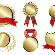 Types of prizes — Stock Photo