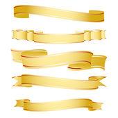 Shapes of ribbon — Stock Photo