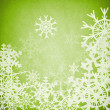 Abstract snowflake background — Stock Photo