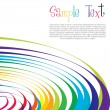 Colorful wavy background — Stok fotoğraf