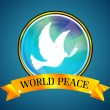World peace — Stock Photo