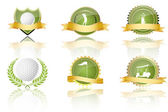 Golf prizes — Stock Photo