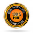 100% pure tag — Stock Photo #5001127