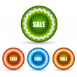 Stock Photo: Sale tags