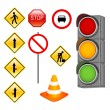 Traffic signals - Stock Photo