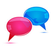 Dialogue bubbles — Stock Photo