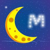 Moon in sky — Stock Photo