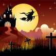 Halloween illustration — Vector de stock #3391718