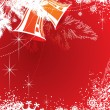 Background for new year and for Christmas — Imagen vectorial