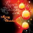 Background for new year and for Christmas — Image vectorielle