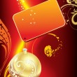 Royalty-Free Stock Vektorgrafik: Background for new year and for Christmas