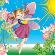 Royalty-Free Stock Vector Image: Little fairy
