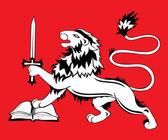 Heraldic sign — Stok Vektör