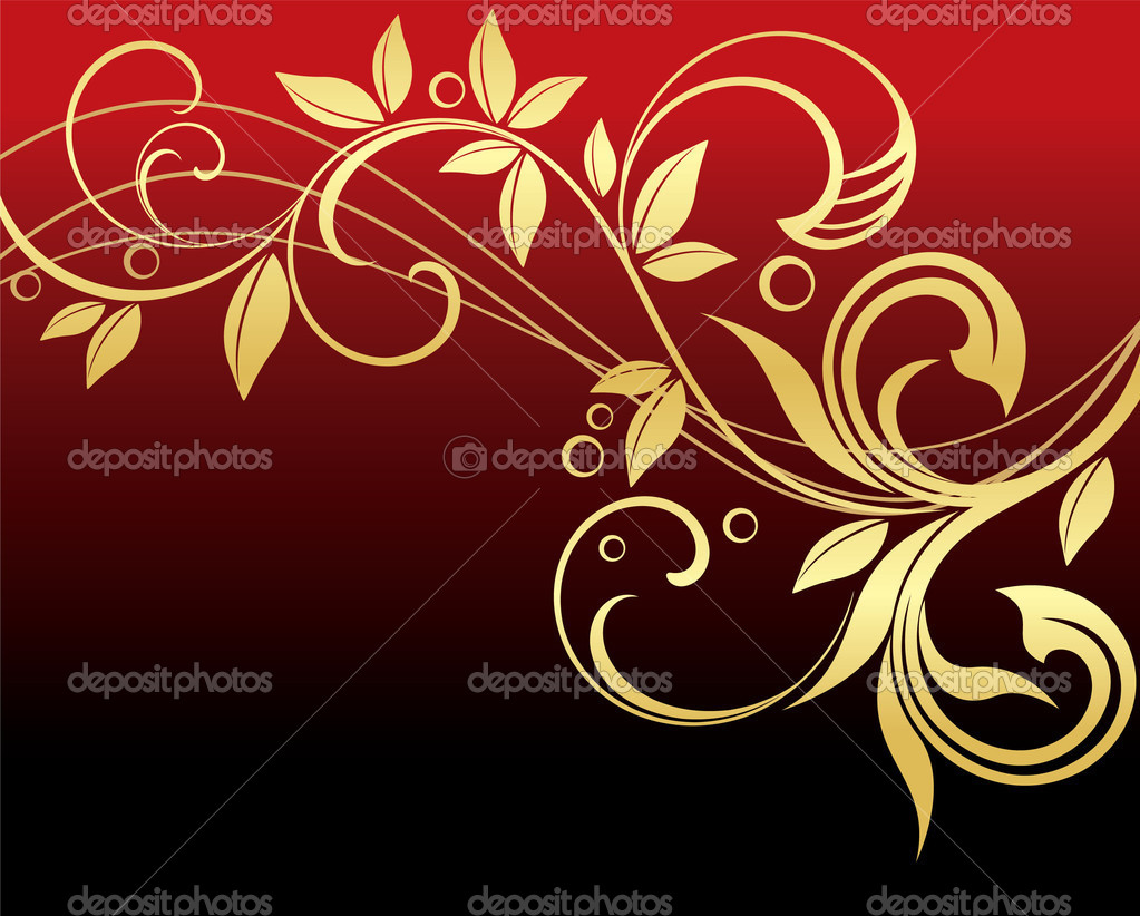 Floral background — Stock Vector #3401301