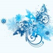 Element for design - New Year background - Image vectorielle