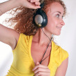 Listening to music — Stock Photo #3311574