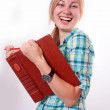 Stock Photo: Female student .