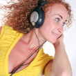 Listening to music - Stock Photo