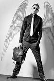 Moda hombre elegante — Foto de Stock