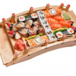 Sushi different nations — Stockfoto #3515666