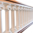 Stone balustrade — Stock Photo