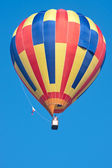 Latający balon — Zdjęcie stockowe