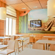 Susi restaurant interior — Stock Photo