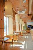 Susi restaurant interior — Stock Photo
